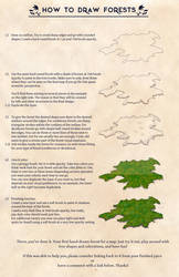 How to draw Forests (on maps)