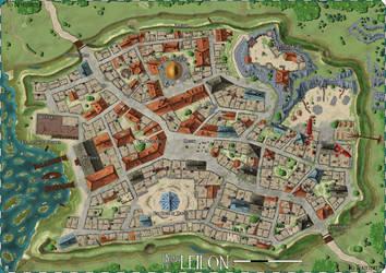 Forgotten Realms: The Ruins of Leilon