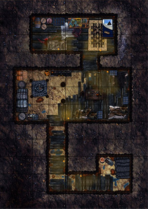 Underground Bandit Hideout
