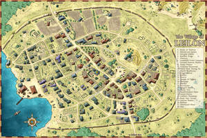 Dungeons and Dragons: Village of Leilon