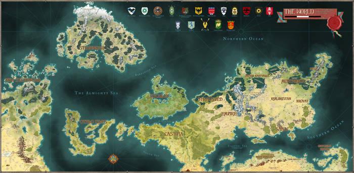 The Northern Hemisphere - Commission
