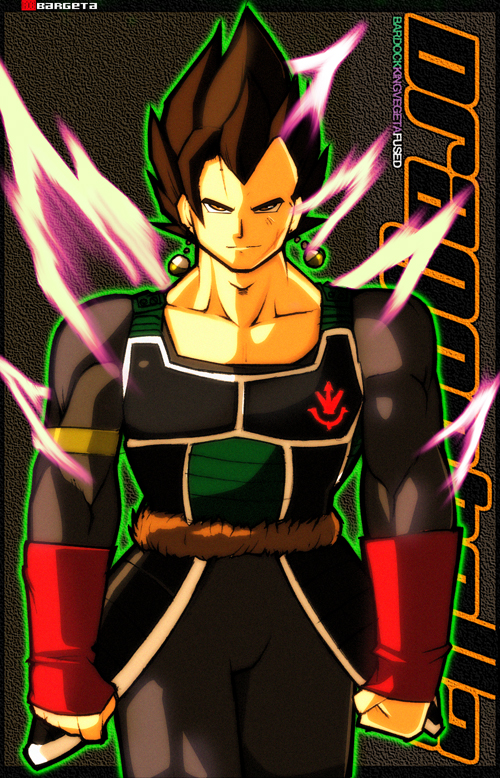 Potara-Bardock KingVegeta by Rukunetsu on DeviantArt