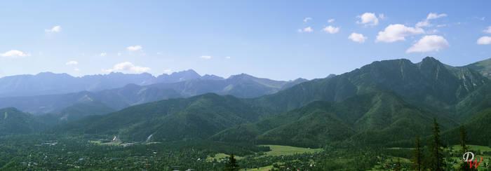 Panorama of Zakopane
