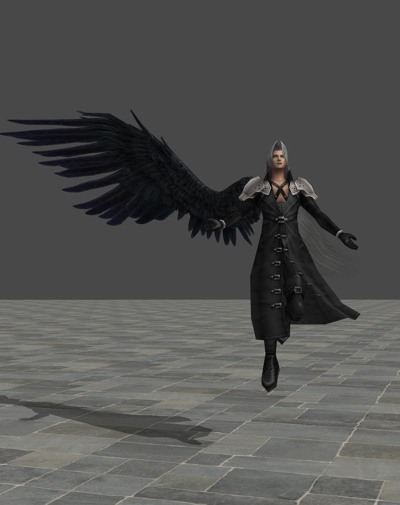 Sephiroth Wing Sephiroth FF7ACC by Th...