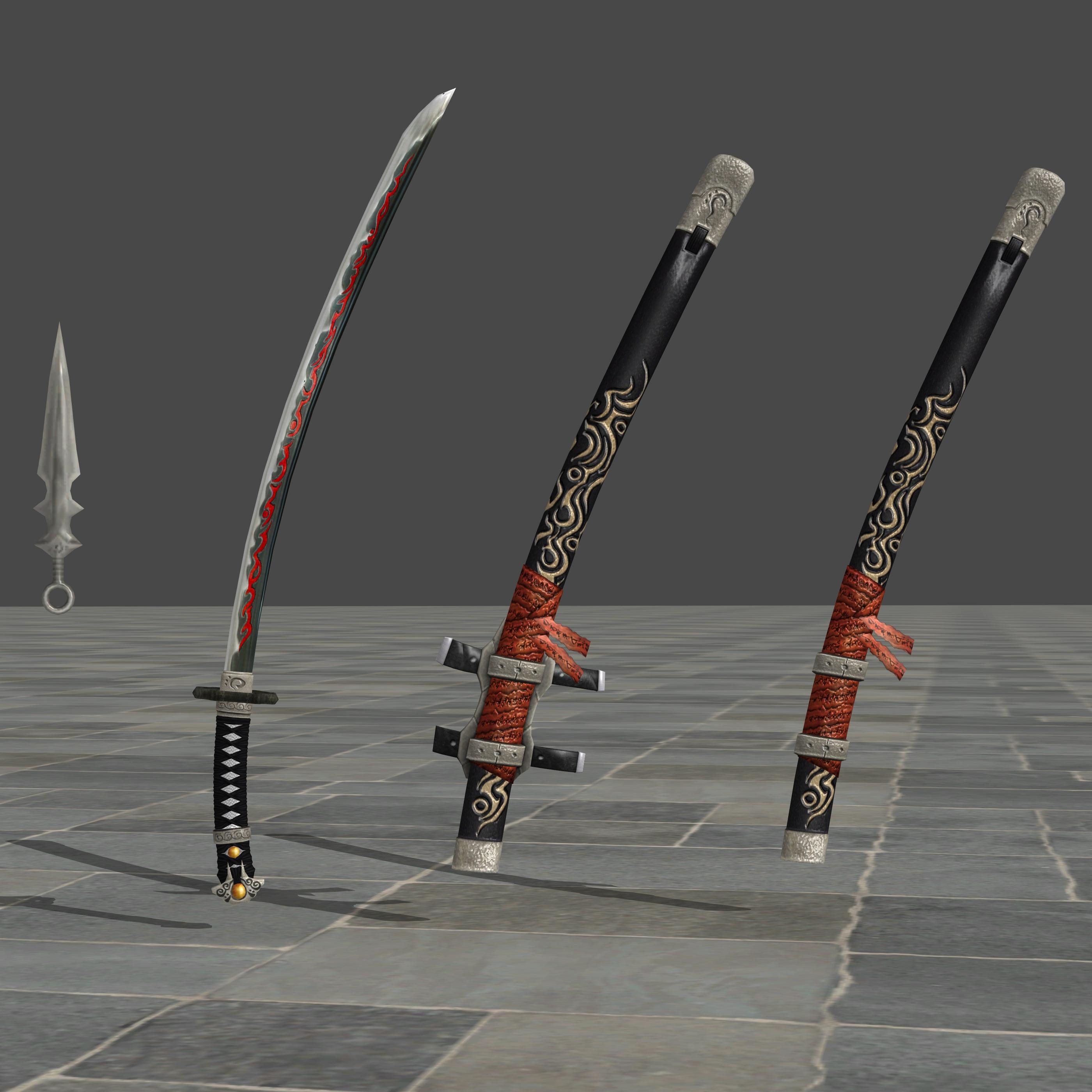 Ninja Gaiden 3: Genshine's Weapon Pack