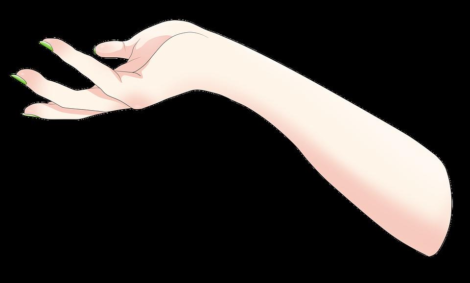 anime hand transparent by TheForgottenSaint47 on DeviantArt