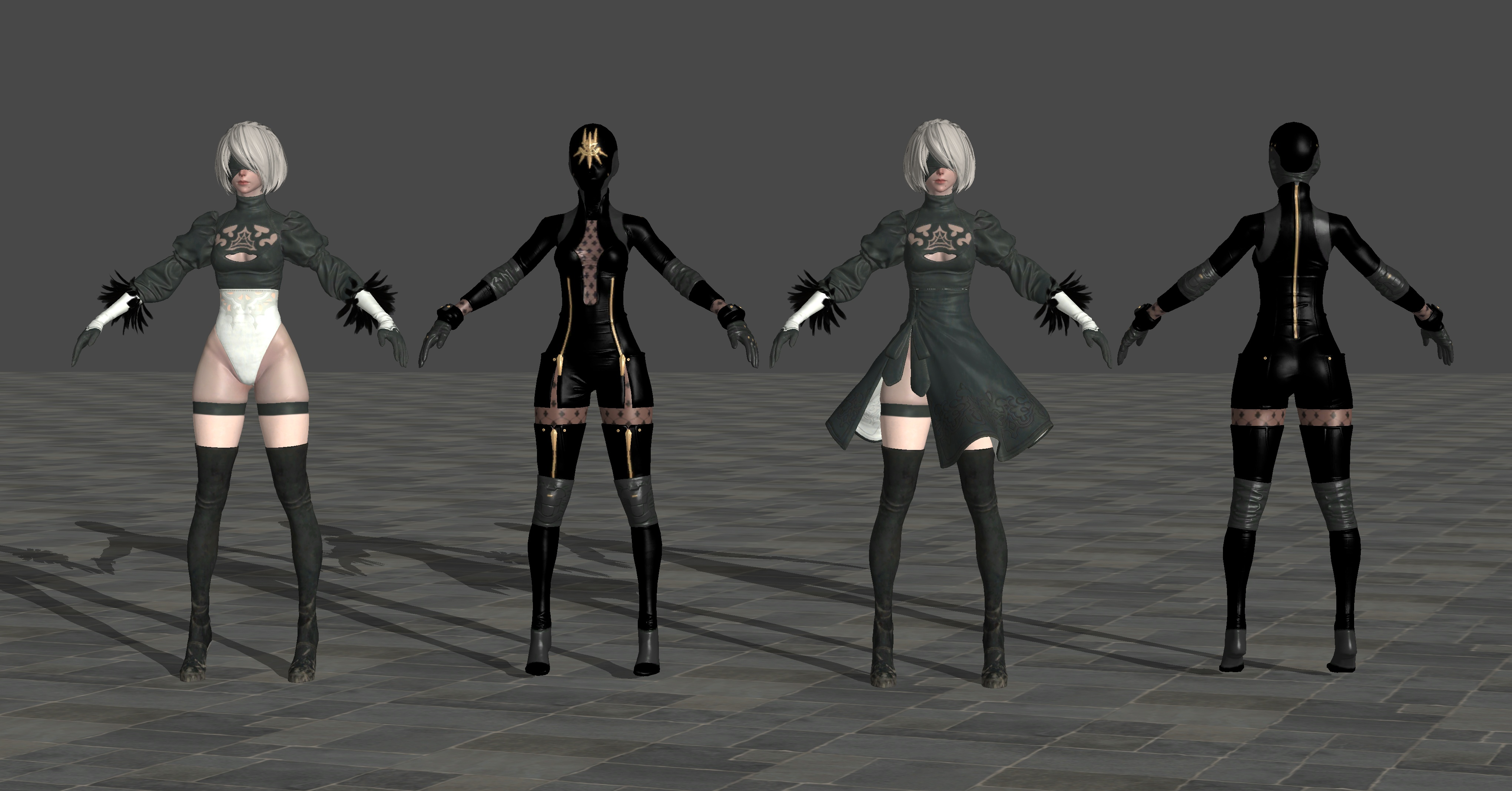 Character Design Nier Automata : B nier automata by theforgottensaint on deviantart