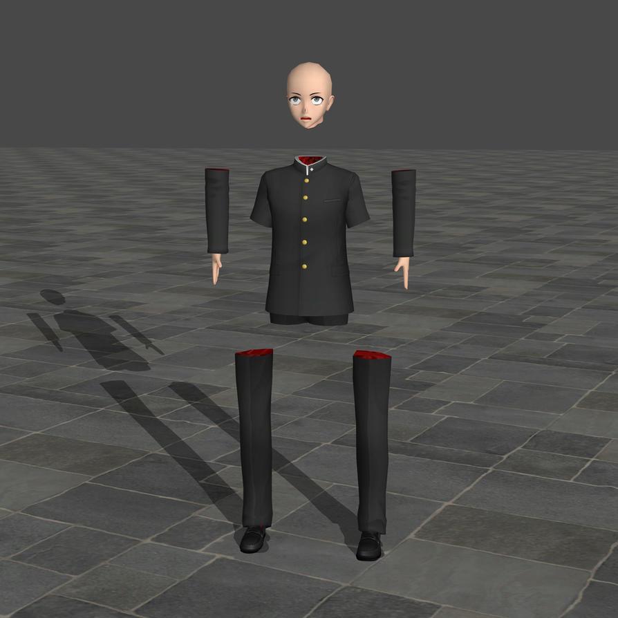 Male body parts - Yandere Simulator by TheForgottenSaint47 on DeviantArt