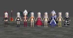 Mirajane pack - Fairy Tail Brave Saga by Dangel-Deviliono