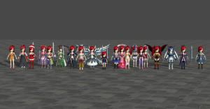 Erza pack - Fairy Tail Brave Saga by Dangel-Deviliono