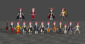 Natsu pack - Fairy Tail Brave Saga by Dangel-Deviliono