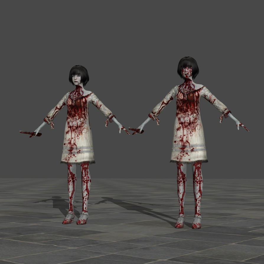 Fuyuhi Himino (Ghost) - Fatal Frame 5 by TheForgottenSaint47 on ...
