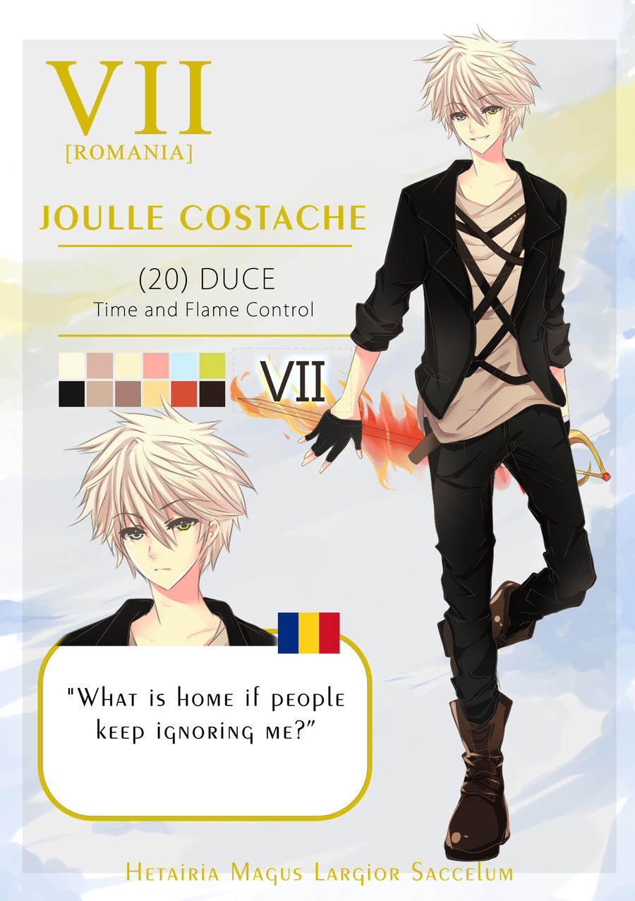 HMLS: Joulle Costache by hisagiku