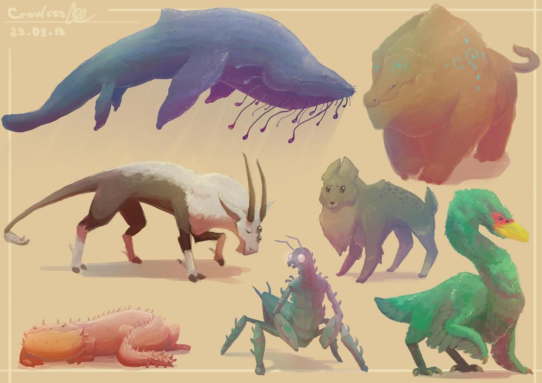 Beasties by crow559