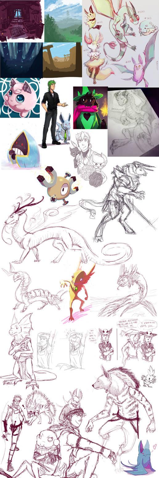 art+sketch+tumblr dump