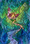 In the wood of stained glass - 1