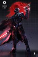Darth Vader by YOUZI78122