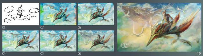 Gliding step by YOUZI78122