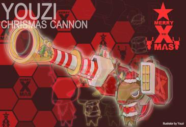 Chrismas cannon by YOUZI78122