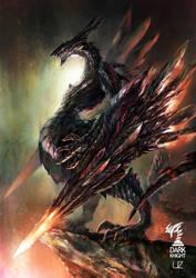 DRAGON WARRIOR-DARK KNIGHT by YOUZI78122