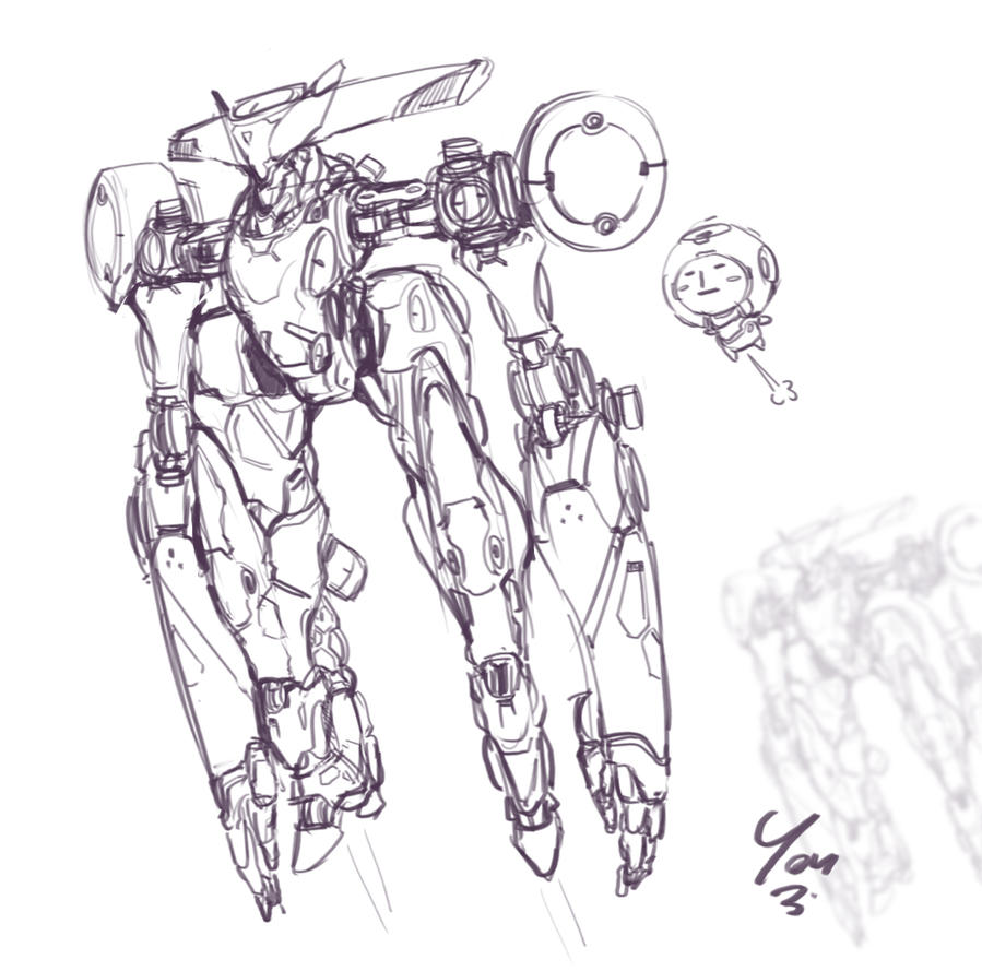 Bot doodle by YOUZI78122