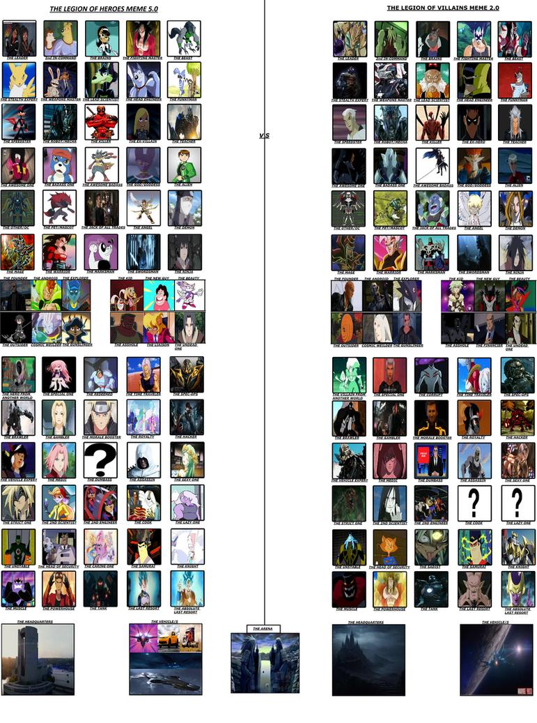 Good vs. Evil Meme Part 2 by db1993