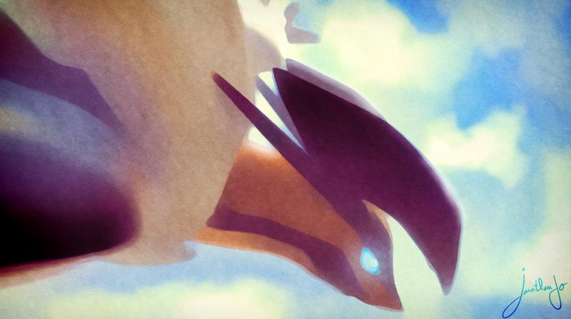 Pokemon X and Y 6th Gen - Yveltal by Jonathanjo
