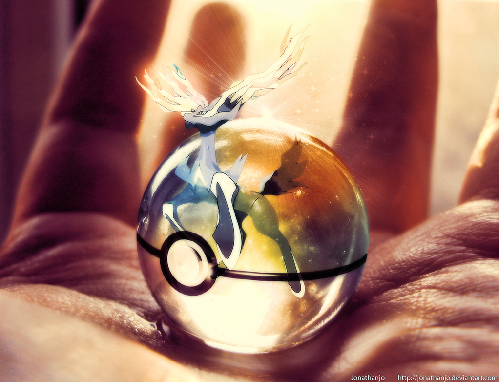 Pokeball of Xerneas by Jonathanjo