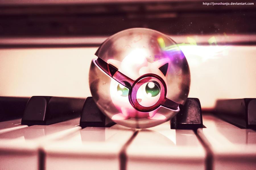 Jigglypuff in a Pokeball by Jonathanjo
