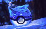Pokeball of Elsa from Frozen