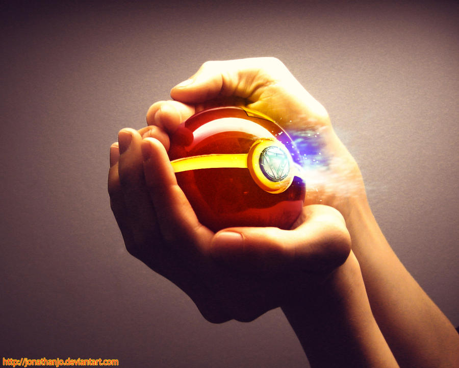 The Pokeball of Iron Man by Jonathanjo