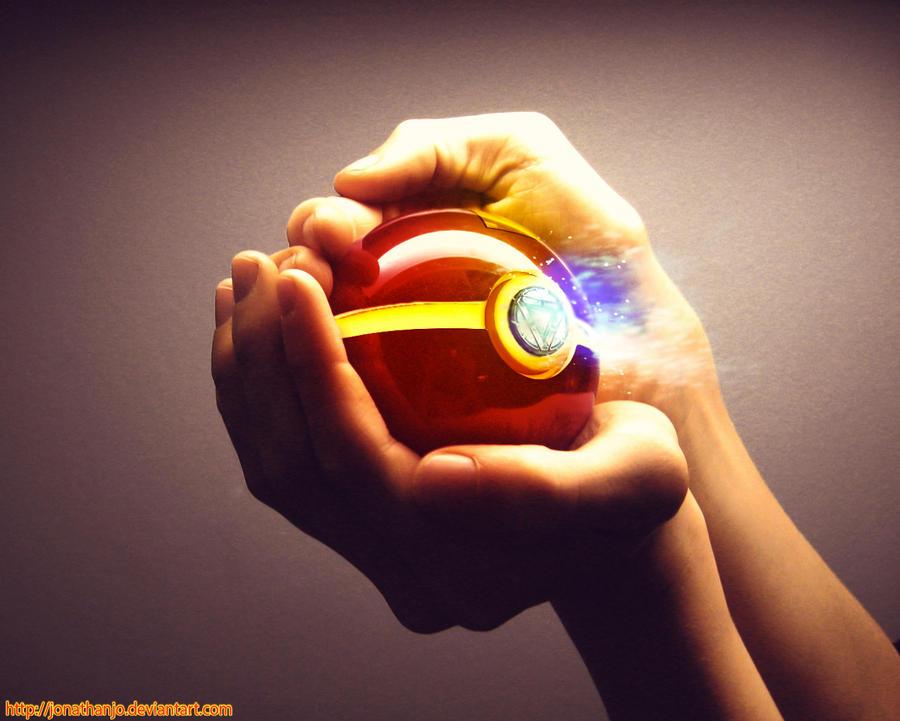 The Pokeball of Iron Man by Jonathanjo