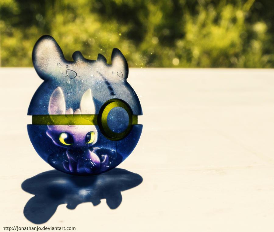 The Pokeball Of Toothless By Jonathanjo On Deviantart