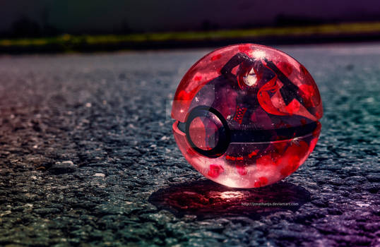The Pokeball of Ruby Rose (tribute to MontyOum)