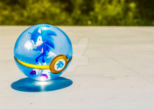 Pokeball of Sonic