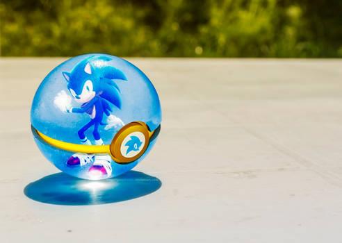 The Pokeball of Sonic the Hedgehog