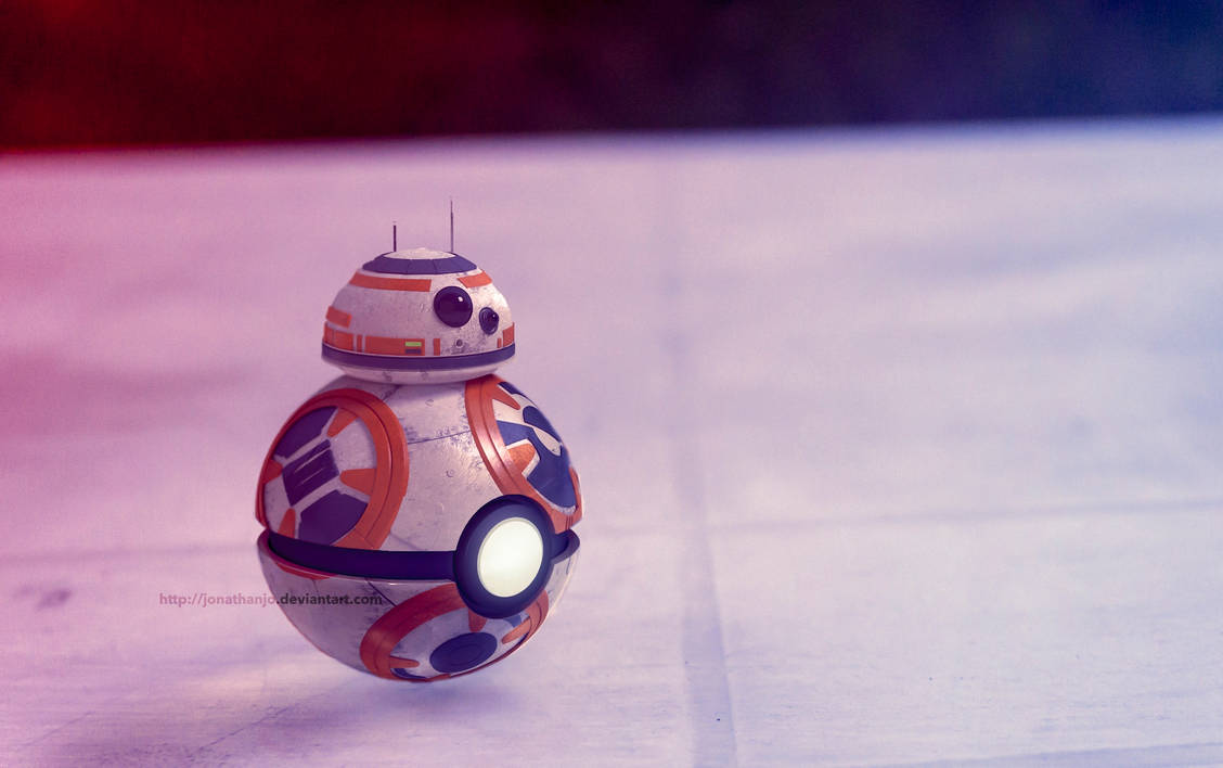 BB8 as a Pokeball (Star Wars)