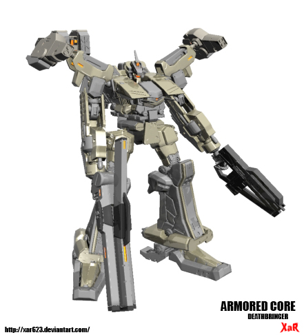 Armored Core DeathBringer by XaR623