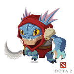 dota 2 fan art 'Slark'