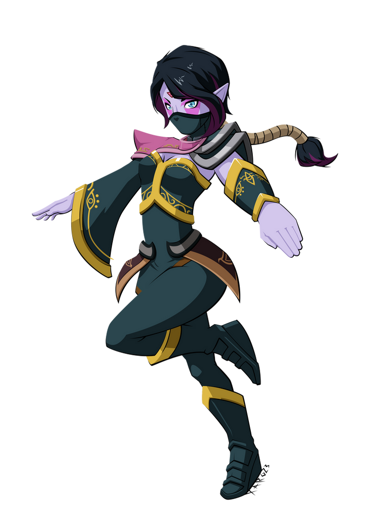 FA Templar Assassin Dota2 by XaR623