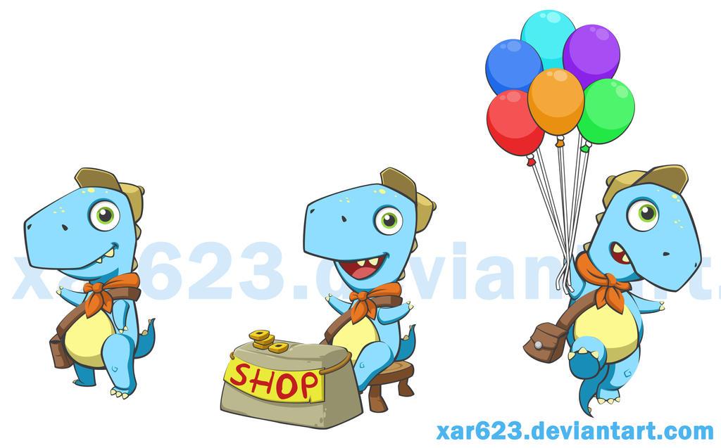 Rex The Explorer by XaR623