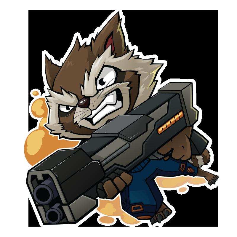 Star Lord And Rocket Raccoon By Timothygreenii On Deviantart: FA GOG Rocket Raccoon By XaR623 On DeviantArt