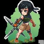 FA FF VII Yuffie Kisaragi