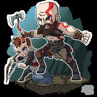 FA God of War by XaR623