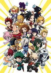 FA My Hero Academia by XaR623