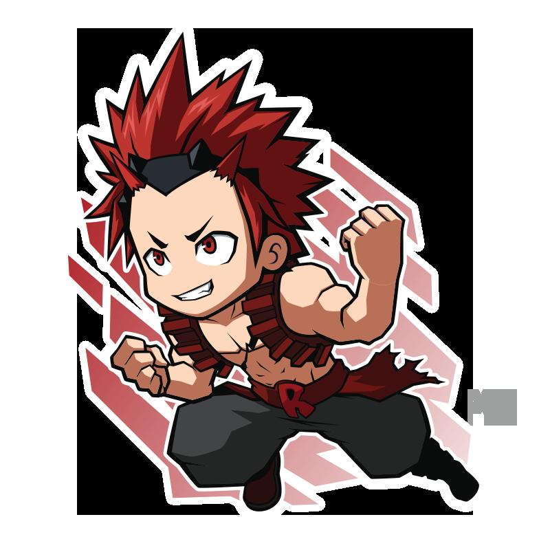 FA Eijiro Kirishima - Boku No Hero by XaR623