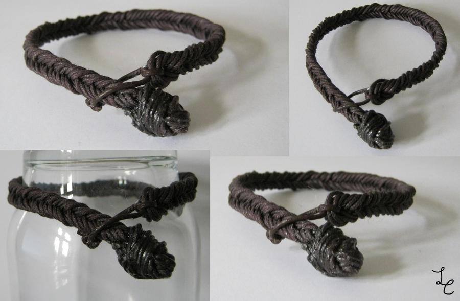 brown braid by LovelessCrosseria