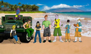 Androids on the Beach