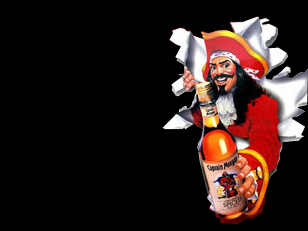 Free download of Captain Morgan Rum vector graphics and