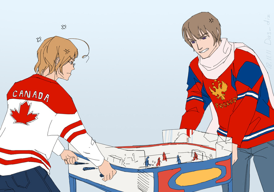Russia x canada